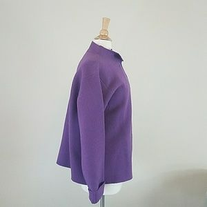 Eileen Fisher Jackets & Coats - Eileen Fisher Purple Jacket